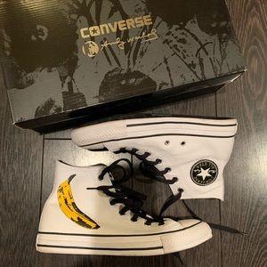Converse x Andy Warhol Banana Hightops